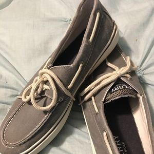 Sperry Top Sider Gray Sz 11.5